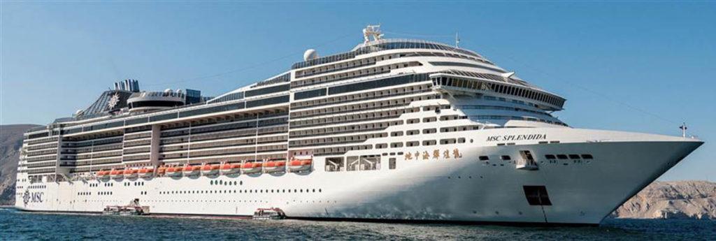 MSC CRUISES REDEPLOYS MSC SPLENDIDA: Grand Voyage gets new ...